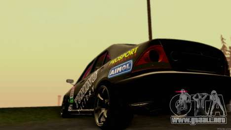 Toyota Altezza para vista lateral GTA San Andreas