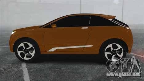 Lada XRay Concept para GTA 4 left