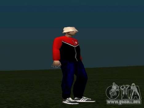 La piel por Maccer para GTA San Andreas segunda pantalla