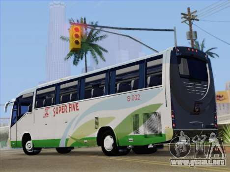 Irizar Mercedes Benz MQ2547 Super Five S 002 para vista lateral GTA San Andreas
