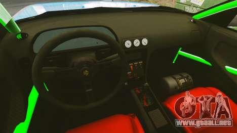 Nissan 240SX para GTA 4 vista hacia atrás