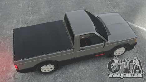 GMC Syclone 1992 para GTA 4 visión correcta