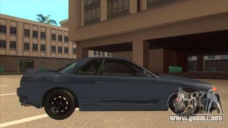 Nissan Skyline GT-S32 Drifter Edition para GTA San Andreas vista posterior izquierda