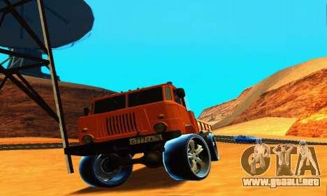 GAZ 66 Cáucaso para vista lateral GTA San Andreas