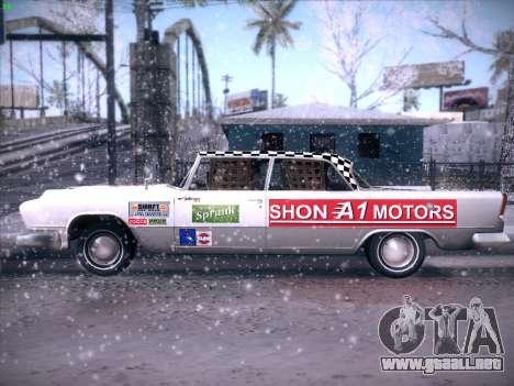HD Bloodring Banger para GTA San Andreas vista hacia atrás