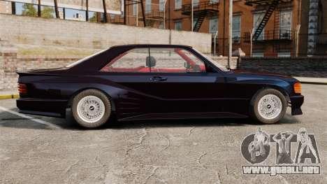 Mercedes-Benz C126 500SEC para GTA 4 left