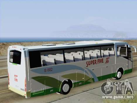 Irizar Mercedes Benz MQ2547 Super Five S 002 para visión interna GTA San Andreas