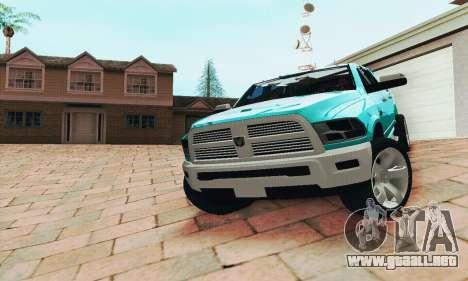 Dodge Ram 2500 HD para GTA San Andreas