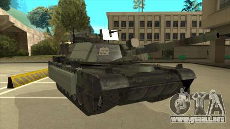 M69A2 Rhino Bosque para GTA San Andreas left