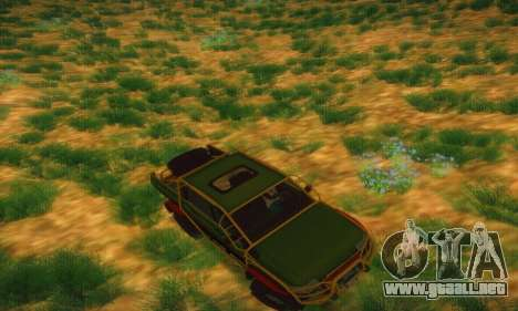 UAZ Patriot camioneta para la vista superior GTA San Andreas