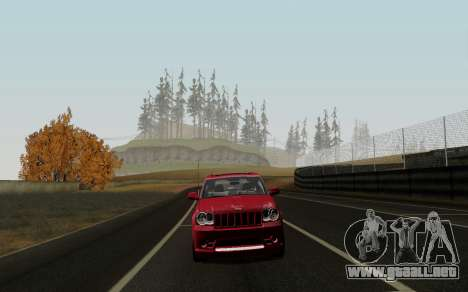 Jeep Grand Cherokee SRT10 para GTA San Andreas left