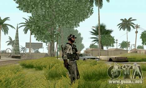 CZ 805 de batalla 4 para GTA San Andreas tercera pantalla