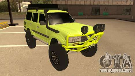 Toyota Land Cruiser para GTA San Andreas left