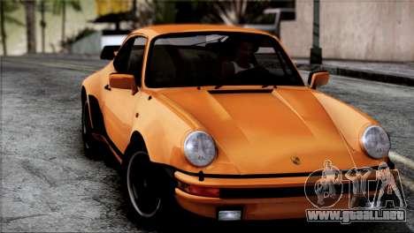 Porsche 911 Turbo 3.3 Coupe 1982 para GTA San Andreas