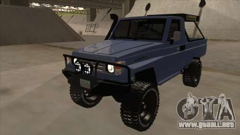 Toyota Machito Pick Up 2009 para GTA San Andreas