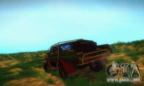 UAZ Patriot camioneta para la visión correcta GTA San Andreas