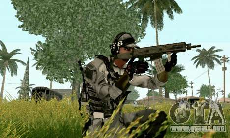 CZ 805 de batalla 4 para GTA San Andreas