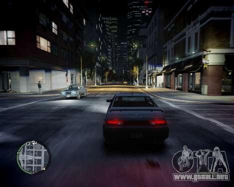 BiXenon v2.0 para GTA 4 adelante de pantalla