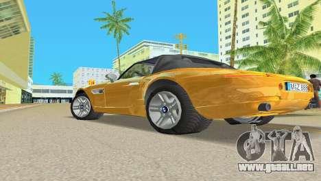 BMW Z8 para las ruedas de GTA Vice City