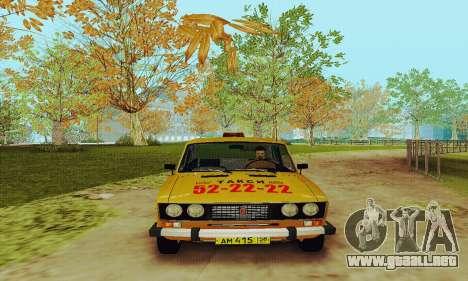 Taxi 2106 VAZ para GTA San Andreas left