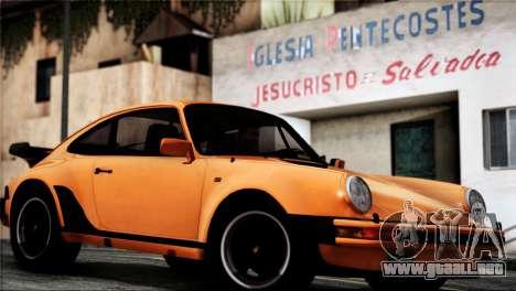 Porsche 911 Turbo 3.3 Coupe 1982 para la visión correcta GTA San Andreas