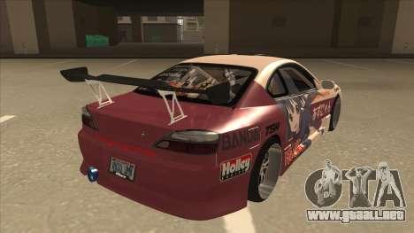 S15 K-ON Itasha para la visión correcta GTA San Andreas
