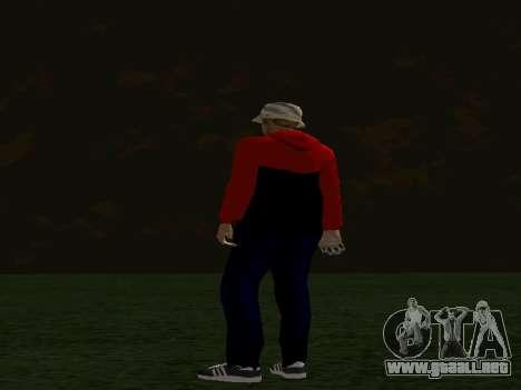 La piel por Maccer para GTA San Andreas tercera pantalla