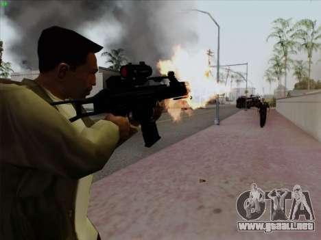 HK-G36C para GTA San Andreas segunda pantalla
