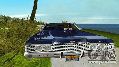 Mercury Monterey 1972 para GTA Vice City vista lateral izquierdo