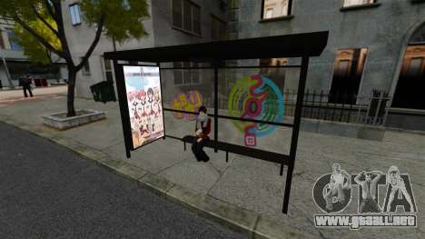 Animación japonesa para GTA 4 adelante de pantalla