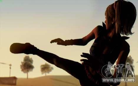 ENB Z Finale para GTA San Andreas sucesivamente de pantalla