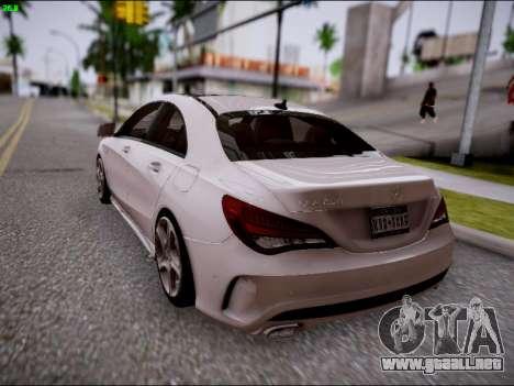 Mercedes-Benz CLA 250 para vista lateral GTA San Andreas