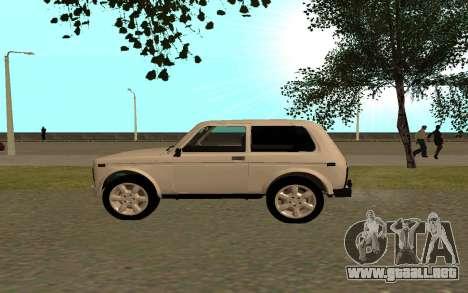 El Niva VAZ 21213 para GTA San Andreas left