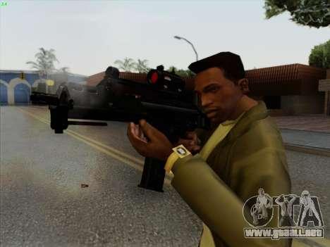 HK-G36C para GTA San Andreas tercera pantalla