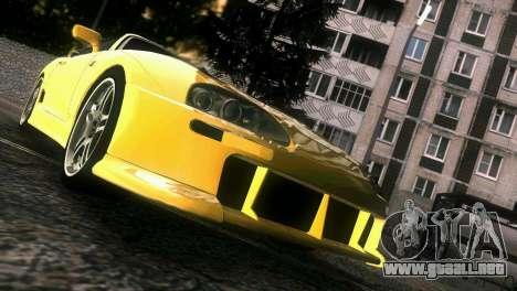 Toyota Supra TRD para GTA Vice City vista superior