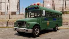 El autobús de la prisión, ciudad de Nueva York