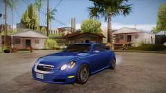 Lexus SC430 2JZ-GTE Black Revel para GTA San Andreas