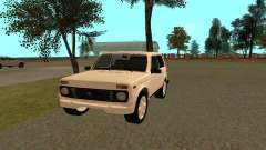 El Niva VAZ 21213 para GTA San Andreas