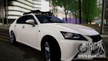 Lexus GS 350 para GTA San Andreas