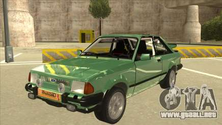 Ford Escort XR3 With Cosworth Spoiler para GTA San Andreas