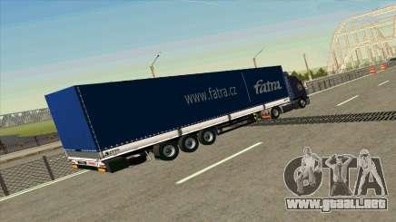 Kogel remolque para Volvo FM16 para GTA San Andreas
