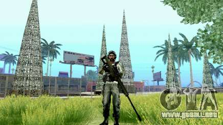 Barrett M82 de batalla 4 para GTA San Andreas