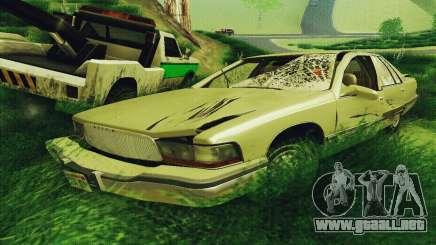 Buick Roadmaster roto para GTA San Andreas
