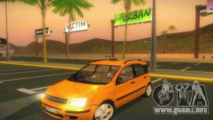 Fiat Panda Taxi para GTA San Andreas