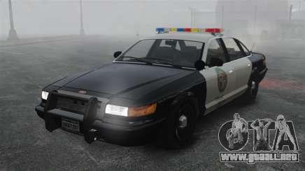 Una patrulla de la policía GTA V para GTA 4