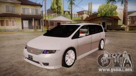 Honda Odyssey v1.5 para GTA San Andreas