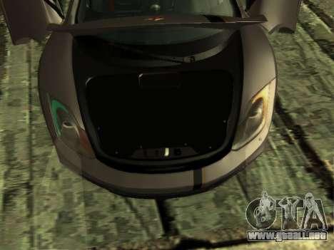 McLaren MP4-12C WheelsAndMore para vista inferior GTA San Andreas