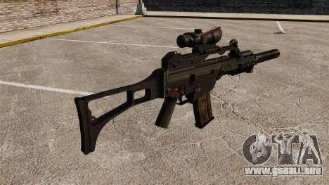 Automático HK G36C v4 para GTA 4 segundos de pantalla