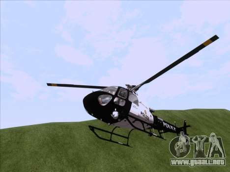 Police Maverick GTA 5 para la visión correcta GTA San Andreas