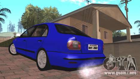 Fiat Marea Sedan para GTA San Andreas left